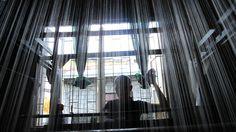 Weaving loom Loom Weaving, Curtains, Home Decor, Loom, Blinds, Weaving, Interior Design, Draping, Home Interior Design
