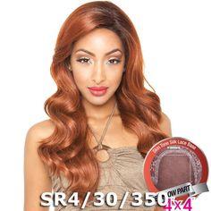 "ISIS Brown Sugar Human Hair Blend Silk Lace Wig - BS608 (4""X4"" Lace)"