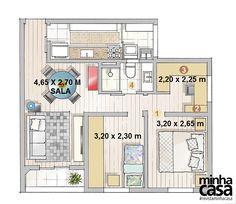 Revista MinhaCASA - Apartamento de 62 m² cheio de ideias para aproveitar espaço