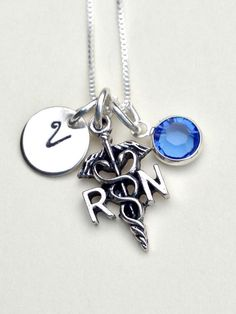 nurse necklace gifts for nurses nurse gift RN by natashaaloha, $42.00