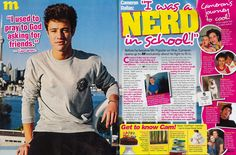 Cameron Dallas in M Magazine! | 26MGMT I read this artical it was so cute and I LUVEDDDD IT !!!!!