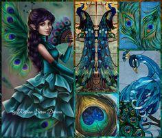 '' Peacock Love '' by Reyhan Seran Dursun