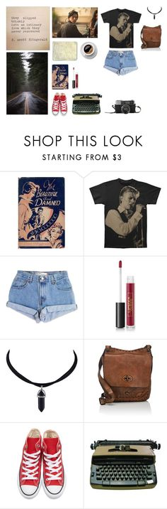 """""""This isn't one of your stories, Sabrina, where everyone has a happy ending.... Jason blossom was murdered, and someone here killed him."""" by me1ody ❤ liked on Polyvore featuring Moleskine, Levi's, Lipstick Queen, Campomaggi, Converse, ootd, casualoutfit and riverdale"""