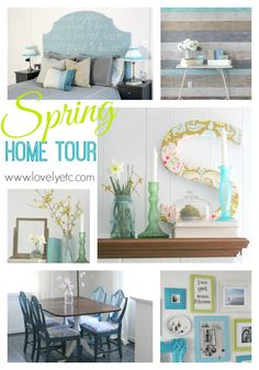 Bring on Spring! Spring Home Tour - Lovely Etc.