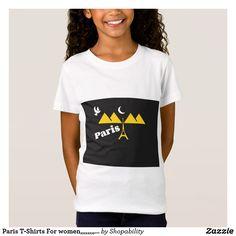Paris T-Shirts For women,,,,,,,,,,,,,