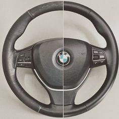 Steering Wheel Restoration >> Leather Steering Wheel Restoration Re Colouring Repair
