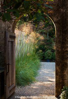 Garden Door to a secret garden - I'd love to have one - Gary Ratway design