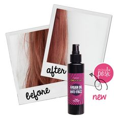 No gimmicks. No Photoshop. Just pure results. Try our new anti-frizz soothing hair serum and people will stare at your Perfectly Posh hair! Find a consultant near you @ perfectlyposh.com