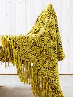 Virkattu torkkupeitto Novita Isoveli | Novita knits