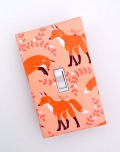 This delicate light switch plate. | 21 Adorable Fox Products You Need In Your Life