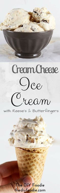 Cream Cheese Ice Cream - this is to die for!!