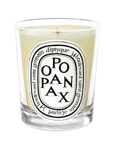 Opoponax Candle Scented Candle by Diptyque, at Luckyscent. Hard-to-find fragrances, niche brand perfumes,  and other under-the-radar luxuries.