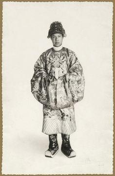 Sa Majesté Bao Dai empereur d'Annam 1928