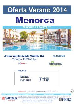 Menorca - Oferta Hotel Prinsotel La Caleta, salidas 18 y 25 Julio desde Valencia ultimo minuto - http://zocotours.com/menorca-oferta-hotel-prinsotel-la-caleta-salidas-18-y-25-julio-desde-valencia-ultimo-minuto-2/