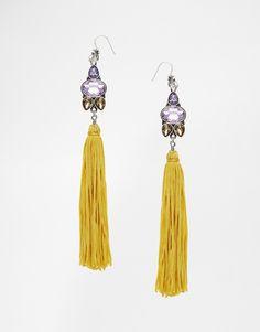 ASOS Nikou Jewel Tassel Earrings