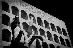 Palazzo della civiltà e del lavoro. Roma EUR
