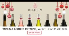 Win 366 bottles of wine, worth over R 30'000, thanks to Cybercellar! #ad