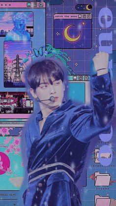 Retro Wallpaper Iphone, Astro Wallpaper, Cha Eun Woo, Bad Girl Aesthetic, Kpop Aesthetic, Astro Kpop Members, Cha Eunwoo Astro, Lee Dong Min, Wallpaper Aesthetic