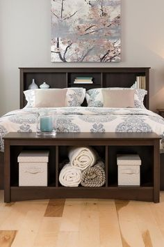 Don't just add furniture because you have space. Make a statement with a skillfully designed Prepac bench. Cute Bedroom Ideas, Cute Room Decor, Room Ideas Bedroom, Trendy Bedroom, Home Decor Bedroom, Dream Rooms, Dream Bedroom, Master Bedroom, Condo Bedroom