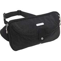 #Backpacks, #Baggallini, #WaistPacksFannyPacks - baggallini Hip Pack Black/Khaki - baggallini Waist Packs & Fanny Packs