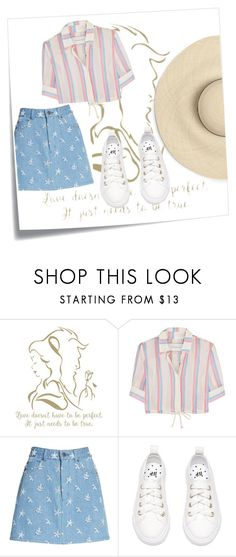 """""""Untitled #38"""" by marielu1 ❤ liked on Polyvore featuring Post-It, Solid & Striped and Marc Jacobs"""