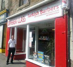 Different Class Turkish Barbers, Burntisland