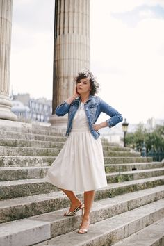 Happy Friday Chiara Plumetis make my lemonade Inspiration Mode, Couture, Mode Style, Happy Friday, Midi Skirt, Summer Outfits, How To Make, How To Wear, Wedding Day