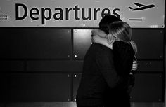 no no no I hate goodbyes. especially in airports.