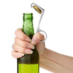 One handed bottle opener! Repinned by SOS Inc. Resources.  Follow all our boards at http://pinterest.com/sostherapy  for therapy resources. Then repinned from Deneicee Orr.