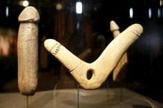 Paleolithic dildos = no, really, I was just as shocked as you are.  Cavemen!
