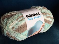 Bernat Baby Bundle Yarn, Colour is Aqua Nest