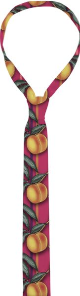 Tie, FRESH PEACHES PATTERN from Print All Over Me
