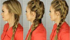 Mohawk Dutch Braid: Inspired by Kate Bosworth | Missy Sue