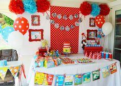Southern Blue Celebrations: Dr Seuss Party Ideas