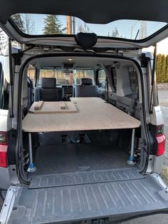 Post with 1853 votes and 61592 views. Shared by snwbmx. Building sleeping platform in Honda Element Truck Bed Camper, Camper Life, Campers, Van Conversion Interior, Camper Van Conversion Diy, Minivan Camping, Jeep Camping, Honda Element Camping, Campervan Bed
