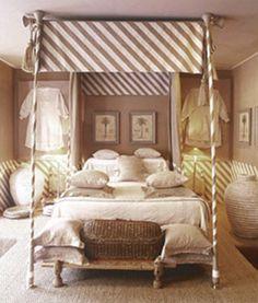 Unique bed...