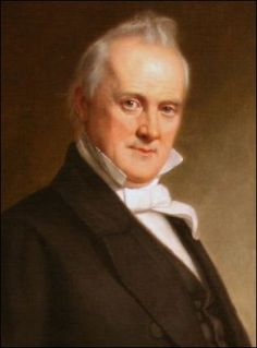 US fifteenth president - James Buchanan