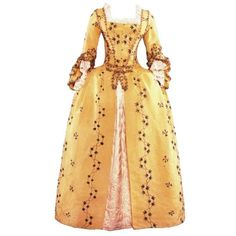 Tumblr ❤ liked on Polyvore featuring dresses, long dresses, costumes, gowns and 18th century