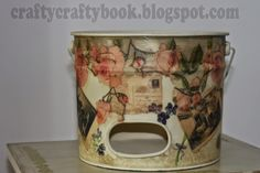 Crafty Crafty Book: DIY Decoupage Collage - Charging Station