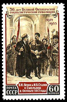 Сталин в филателии — Википедия