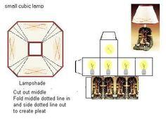 Miniature Printables - Small Cubic Lamp - Paper67 - hkKarine1 - Picasa Web Albums