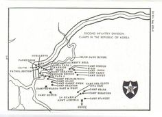 Camp Casey Dongducheon South Korea Military Bases I Have Lived - South korea us army bases map