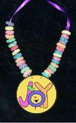 sunday school fruit loop necklace bible craft