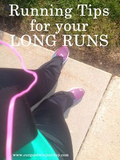 a post for when all of the sudden your 3 mile runs become 6 and 8 and 15 mile runs...tips for long distance running