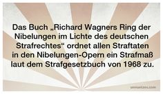 """Diese #Straftaten werden im """"Ring der Nibelungen"""" begangen: http://www.unnuetzes.com/wissen/7858/wagner/"""