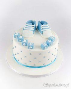 Babyshower kakku  www.superkonditoria.fi