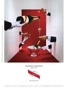 The G.H Mumm Campaignes | Martin Vallin #photography | Set #Design by Arnaud Roth | http://martinvallin.com/blog/?p=2109
