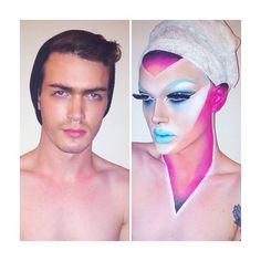 Finally a pic of him w.o make up. *Pearl * season 7. Why he have to b a drag queen lmfao