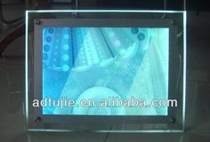LED Crystal Advertising Light Box/advertising display light box, View advertising city light box, QIZI Product Details from Guangzhou Tujie Advertising &decoration Materials Co., Ltd. on Alibaba.com