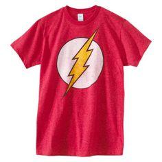 Mens Flash Graphic Tee #Tee_Shirt #Super_Hero